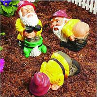 Los tres enanitos del bosque soy donde no pienso - Mi jardin con enanitos ...