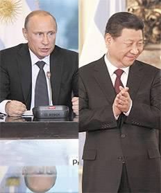 Putin+china